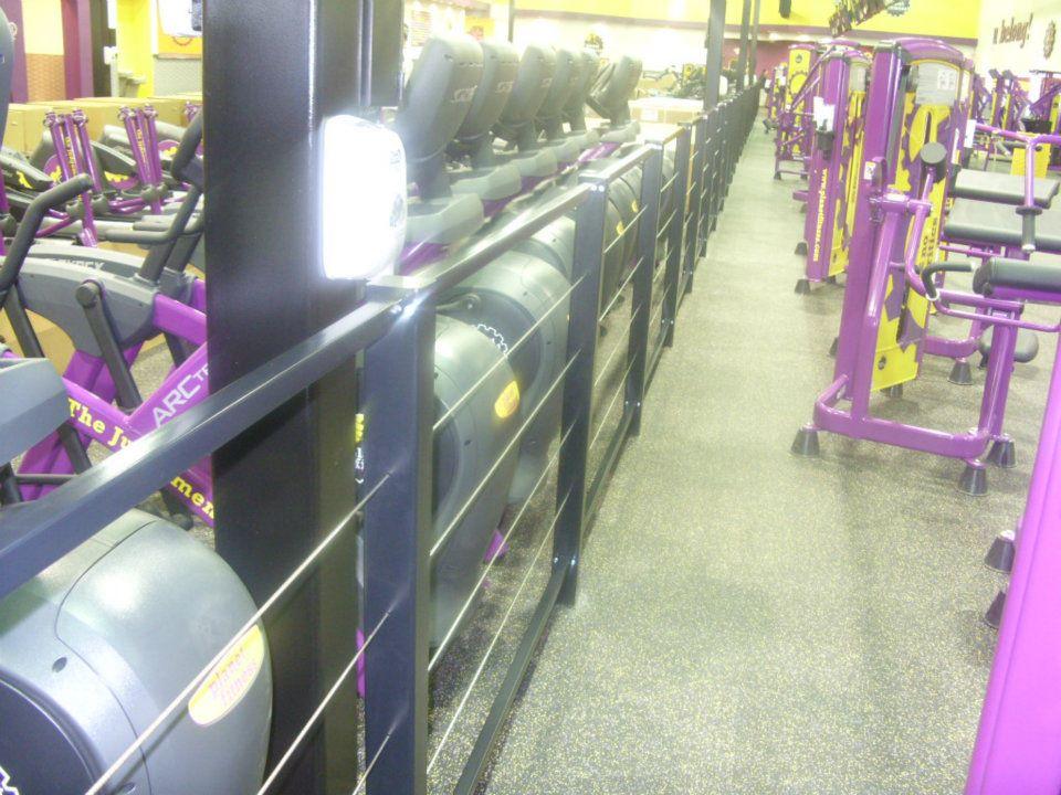 gym rails